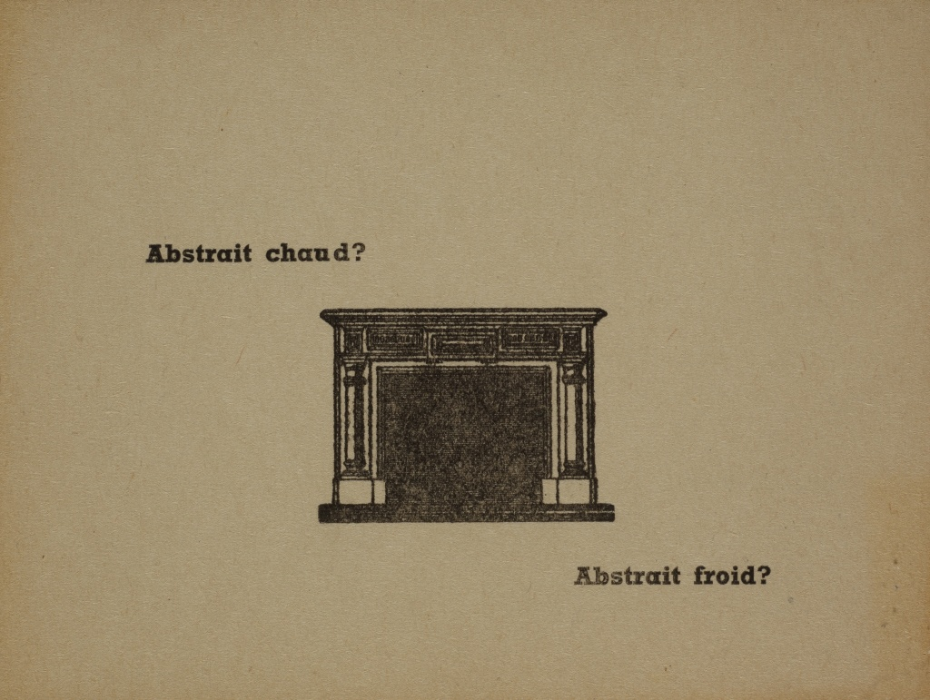 Abstrait chaud ? Abstrait froid ?