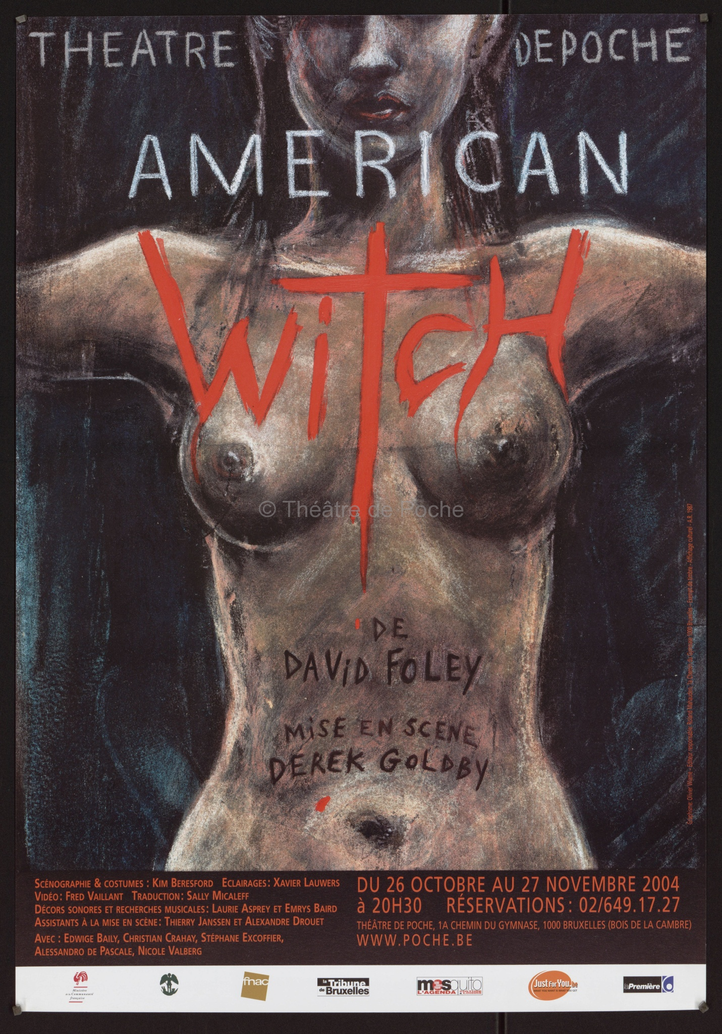 American witch - Affiche
